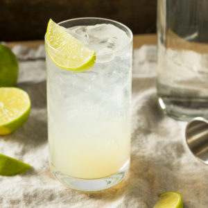 Azuca CBD Lime Rickey Mocktail